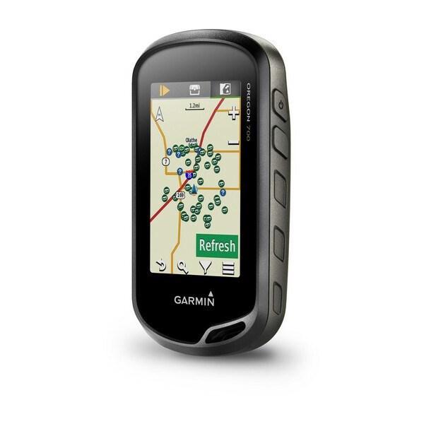 Garmin Oregon 700 Handheld GPS Navigator - Portable, Handheld
