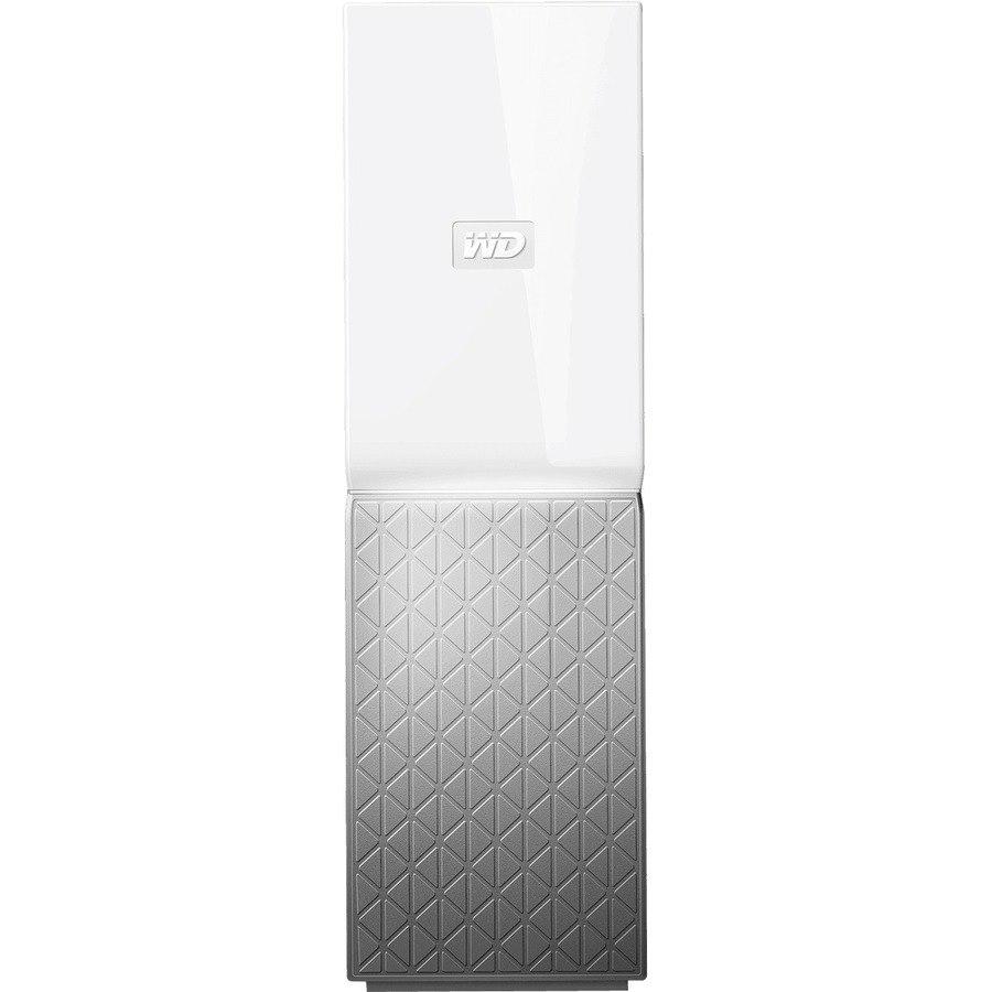 WD My Cloud Home WDBVXC0080HWT-SESN 1 x Total Bays NAS Storage System - 8 TB HDD - Realtek RTD1295 Quad-core (4 Core) 1.40 GHz - 1 GB RAM - DDR3L SDRAM