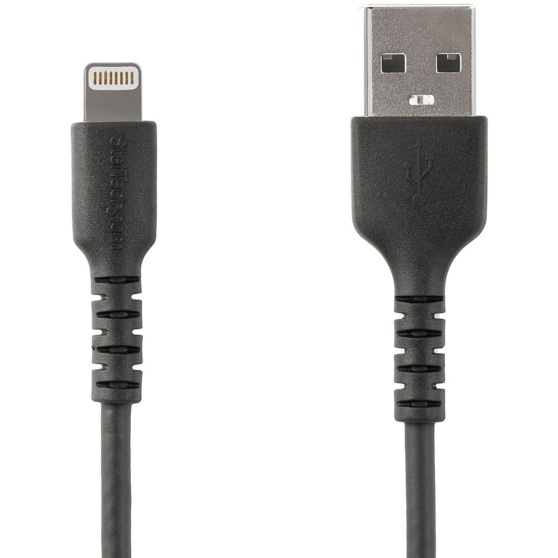 StarTech.com 1.01 m Lightning/USB Data Transfer Cable for Smartphone, iPad, iPhone, AirPods, Magic Keyboard, iPad Air, iPad mini, Magic Mouse, Magic Trackpad, Siri Remote, Charger - 1
