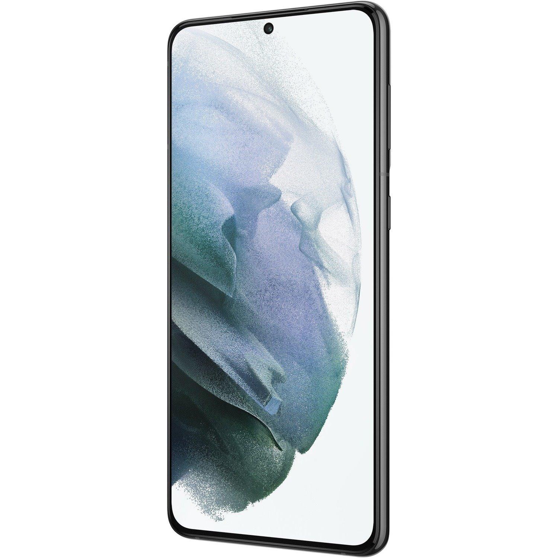 "Samsung Galaxy S21+ 5G 256 GB Smartphone - 17 cm (6.7"") Dynamic AMOLED Full HD Plus 1080 x 2400 - Cortex X1Single-core (1 Core) 2.90 GHz + Cortex A78 Triple-core (3 Core) 2.80 GHz + Cortex A55 Quad-core (4 Core) 2.20 GHz) - 8 GB RAM - Android 11 - 5G - Phantom Black"