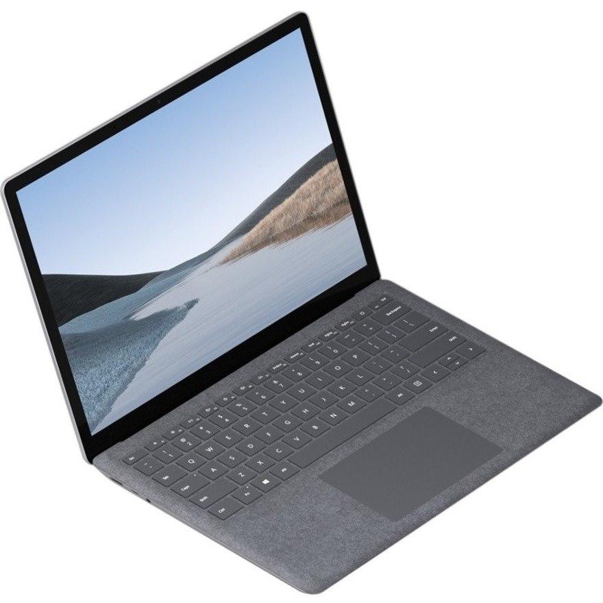 "Microsoft Surface Laptop 3 13.5"" Touchscreen Notebook - 2256 x 1504 - Intel Core i7 10th Gen i7-1065G7 Quad-core (4 Core) 1.30 GHz - 16 GB RAM - 512 GB SSD - Platinum"