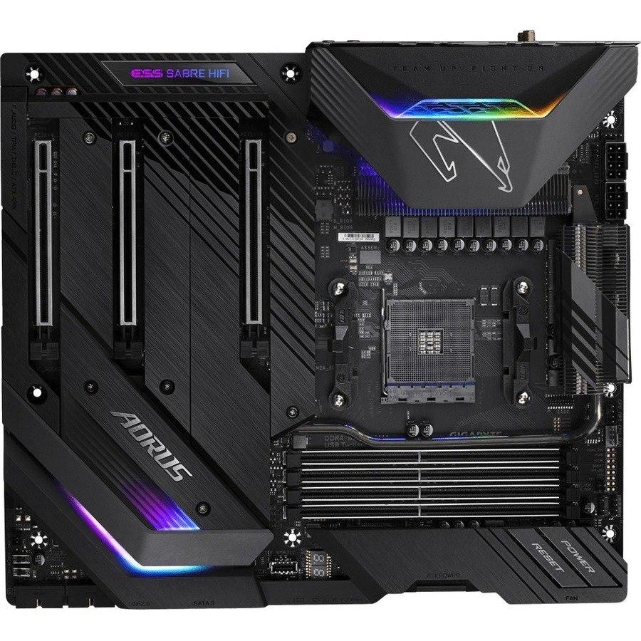 Aorus Ultra Durable X570 AORUS XTREME Desktop Motherboard - AMD Chipset - Socket AM4 - Extended ATX