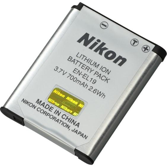 Nikon EN-EL19 Battery - Lithium Ion (Li-Ion) - 1