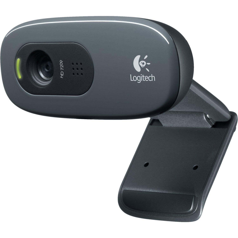 LOGITECH C270 WEBCAM 720P WIDESCREEN HD, BUILT IN MIC(MONO),USB CONNECTIVITY, 2YR WTY