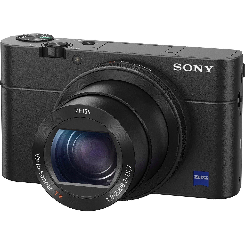 Sony Cyber-shot RX100 IV 20.1 Megapixel Bridge Camera - Black