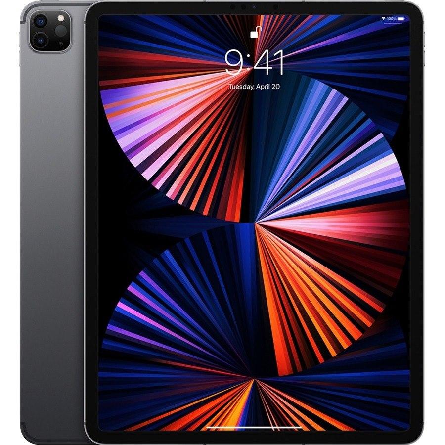 "Apple iPad Pro (5th Generation) Tablet - 32.8 cm (12.9"") - M1 Octa-core (8 Core) - 8 GB RAM - 256 GB Storage - iPadOS 14 - 5G - Space Gray"