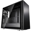 Fractal Design Define S2 Computer Case - ATX, Micro ATX, ITX, EATX Motherboard Supported - Mid-tower - Steel, Aluminium - Blackout