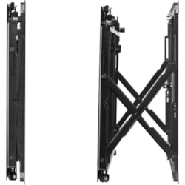 Atdec Ultra Slim Wall Mount - Black