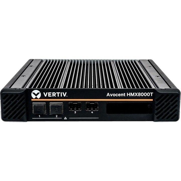 Vertiv Avocent HMX8000T - IP KVM Transmitter | 4K video 10 GbE | 4 USB2.0