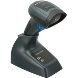 Datalogic QuickScan I QBT2430 Industrial, Retail Handheld Barcode Scanner Kit - Wireless Connectivity - Black - USB Cable Included