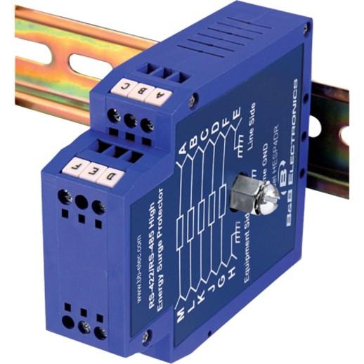 B+B SmartWorx RS-232 High Energy Surge Protector