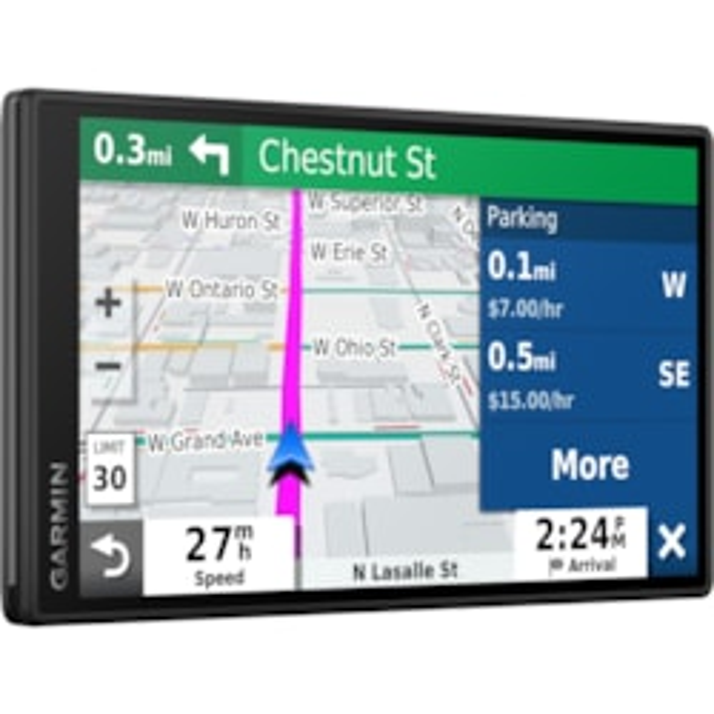 Garmin DriveSmart 55 Automobile Portable GPS Navigator - Portable, Mountable