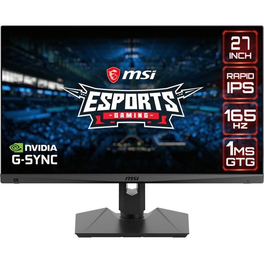"MSI Optix MAG274QRF 68.6 cm (27"") WQHD LED Gaming LCD Monitor - 16:9 - Black"