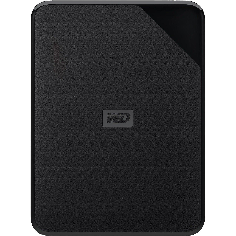 WD Elements SE WDBEPK0020BBK-WESN 2 TB Portable Hard Drive - External - Black
