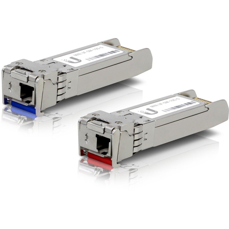 Ubiquiti U Fiber UF-SM-10G-S SFP+ - 1 x LC Simplex 10GBase-X