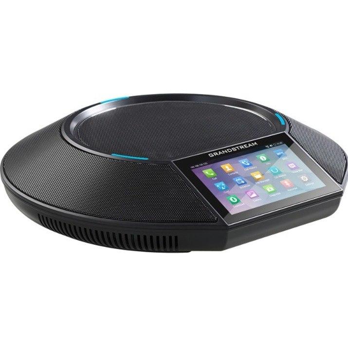 Grandstream GAC2500 IP Conference Station - Corded/Cordless - Corded/Cordless - Bluetooth, Wi-Fi - Desktop - Black
