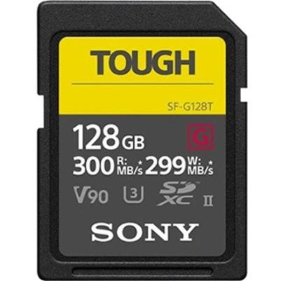 Sony TOUGH SF-G128T 128 GB Class 10/UHS-II (U3) SDXC - 1 Pack