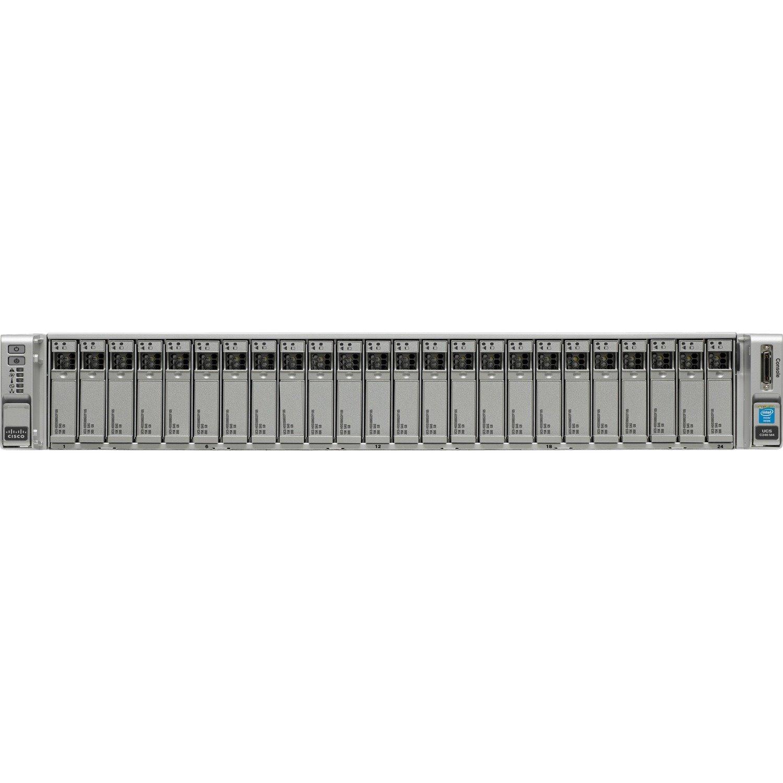 Cisco C240 M4 2U Rack Server - 2 x Intel Xeon E5-2667 v3 3.20 GHz - 256 GB RAM - Serial ATA Controller