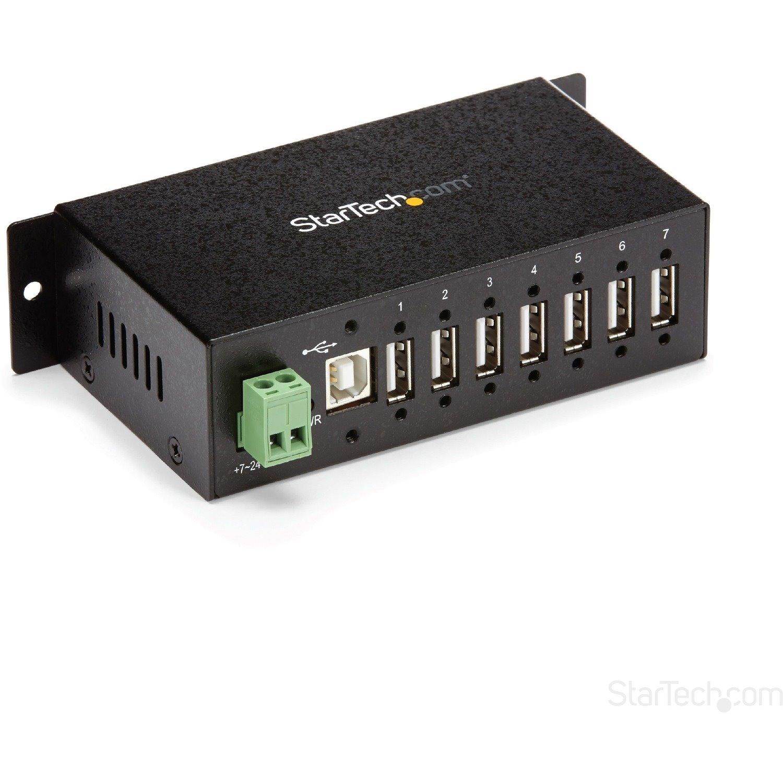 StarTech.com USB Hub - USB - External - Black - TAA Compliant