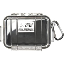 Pelican 1010 Carrying Case iPod - Black, Clear