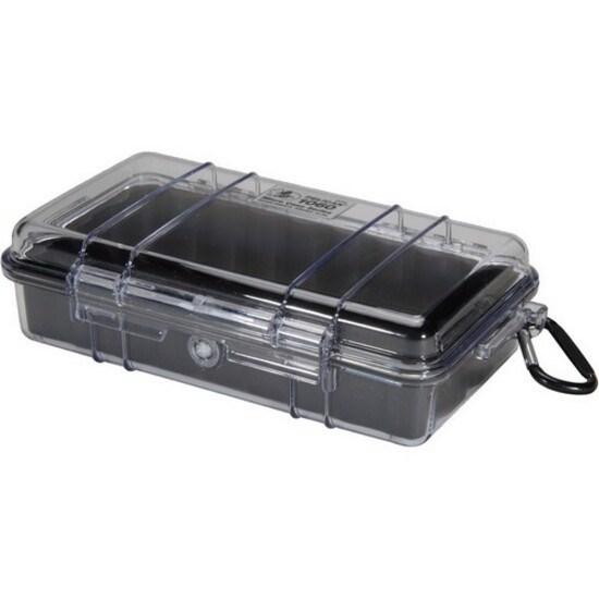 Pelican Micro Case 1060 Travel/Luggage Case Travel Essential - Black