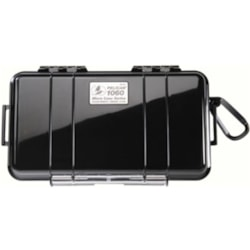 Pelican 1060 Underwater Case Portable Gaming Console, Cellular Phone, Pager, Handheld PC, Camera, Radio, Accessories - Black