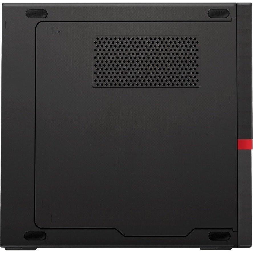 Lenovo ThinkCentre M720q 10T700C8AU Desktop Computer - Intel Core i7 9th Gen i7-9700T Octa-core (8 Core) 2 GHz - 16 GB RAM DDR4 SDRAM - 512 GB SSD - Tiny - Raven Black