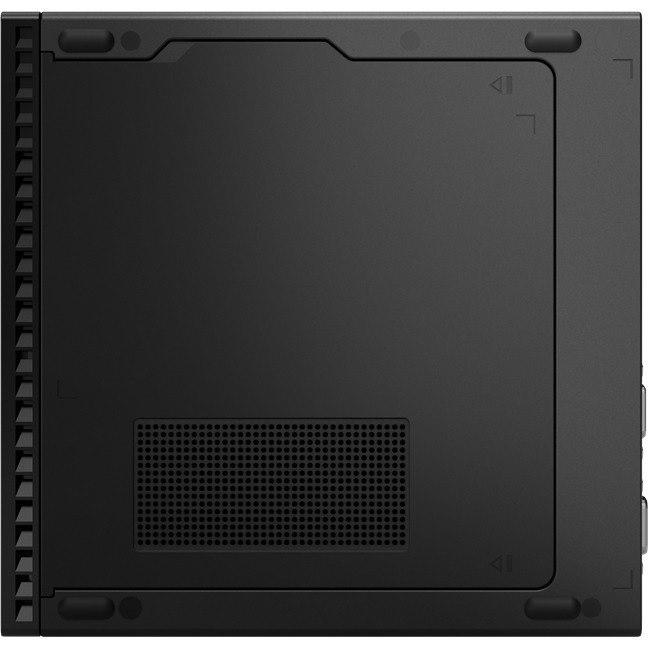 Lenovo ThinkCentre M90q 11CR004FAU Desktop Computer - Intel Core i5 10th Gen i5-10500T Hexa-core (6 Core) 2.30 GHz - 16 GB RAM DDR4 SDRAM - 1 TB SSD - Tiny - Raven Black