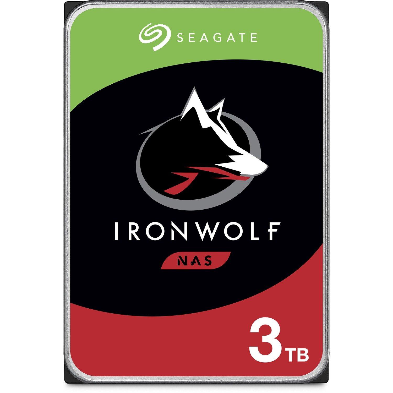 "Seagate IronWolf ST3000VN007 3 TB Hard Drive - 3.5"" Internal - SATA (SATA/600) - Conventional Magnetic Recording (CMR) Method"