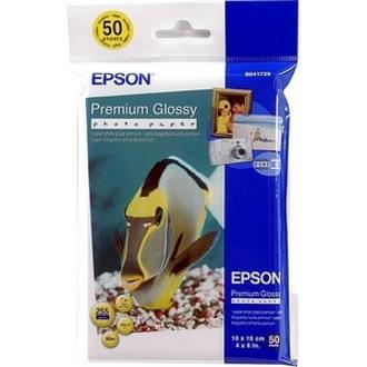 Epson Premium C13S041729 Photo Paper - White