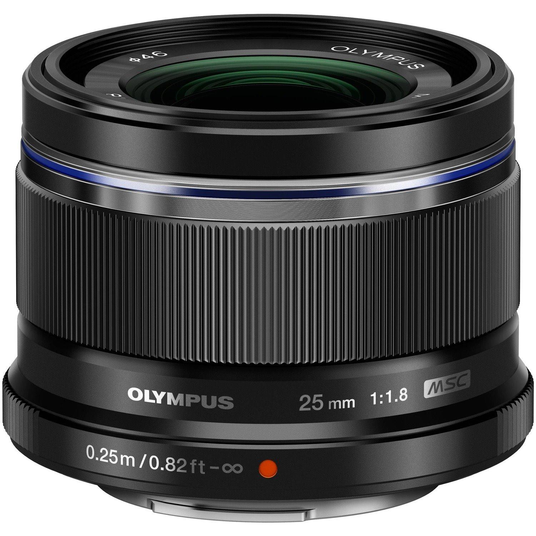 Olympus M.ZUIKO DIGITAL - 50 mm - f/1.8 - Fixed Lens