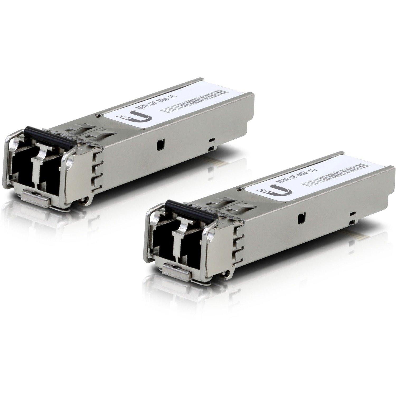 Ubiquiti U Fiber UF-MM-1G SFP (mini-GBIC) - 1 x LC Duplex 1000Base-X Network