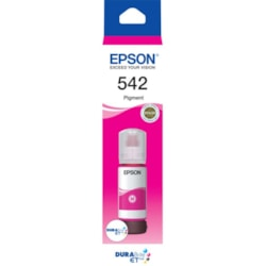 Epson DURABrite EcoTank T542 Ink Refill Kit - Magenta - Inkjet