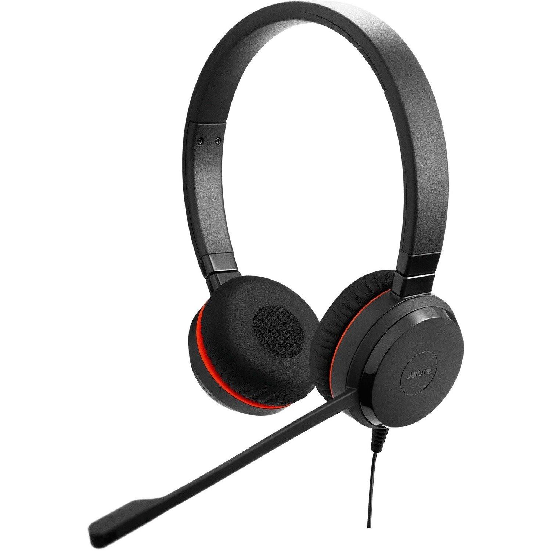 Jabra Evolve 30 II Wired Over-the-head Stereo Headset - Black