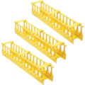Tripp Lite High-Capacity Vertical Cable Manager - Double Finger Duct, Yellow, 6 ft. (1.8 m)