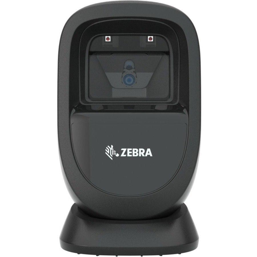 Zebra DS9308 Desktop Barcode Scanner Kit - Cable Connectivity - Midnight Black