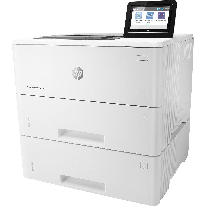 HP LaserJet Enterprise M507 M507x Desktop Laser Printer - Monochrome