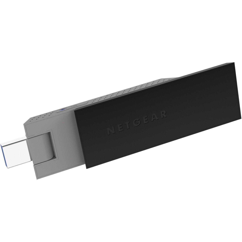 Netgear A6210 IEEE 802.11ac Wi-Fi Adapter for Desktop Computer/Notebook