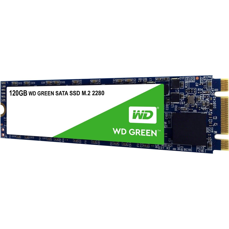 WD Green WDS120G2G0B 120 GB Solid State Drive - M.2 2280 Internal - SATA (SATA/600)