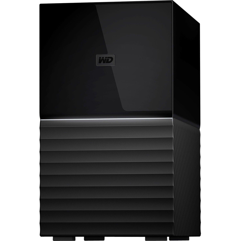 WD My Book Duo WDBFBE0360JBK-AESN 2 x Total Bays DAS Storage System Desktop