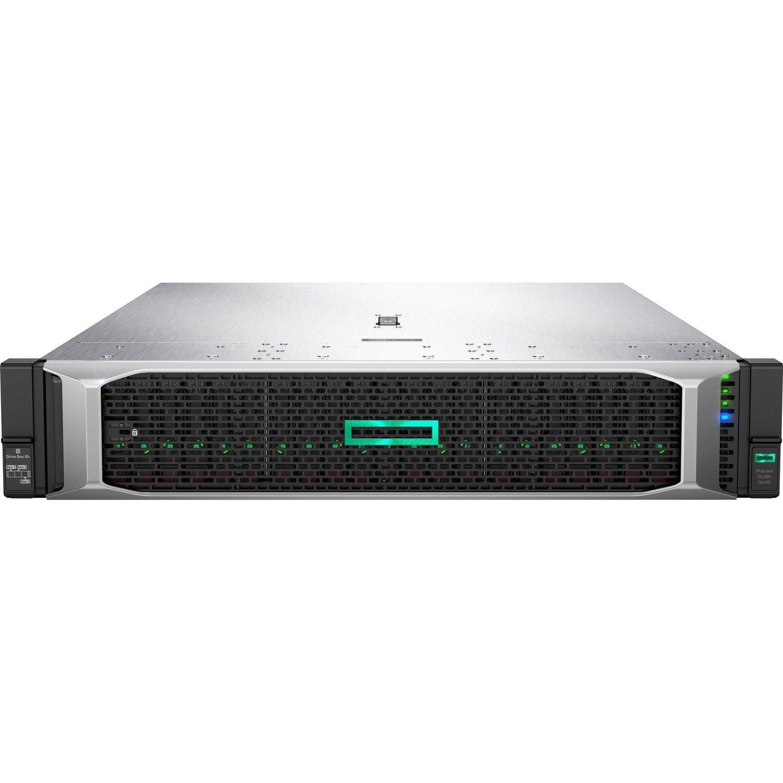 HPE ProLiant DL380 G10 2U Rack Server - 1 x Intel Xeon Silver 4210R 2.40 GHz - 32 GB RAM - Serial ATA/600, 12Gb/s SAS Controller