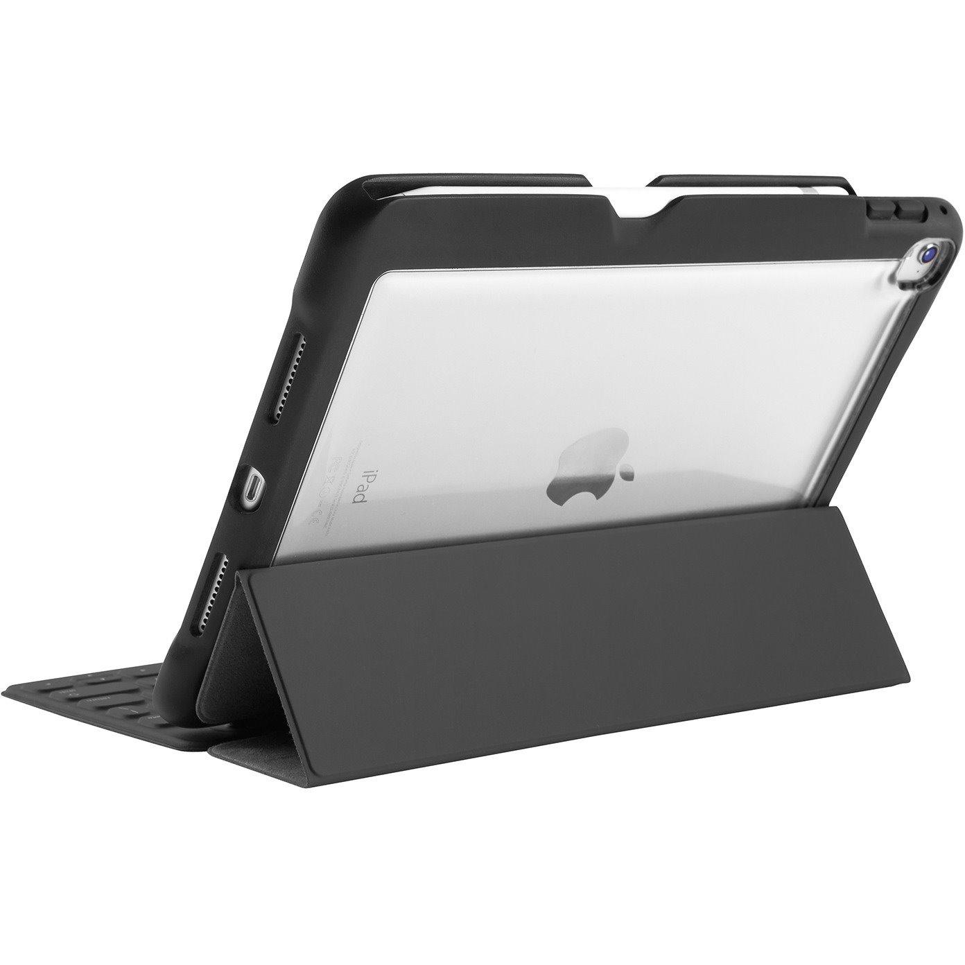 STM Goods dux Case for Apple iPad Pro Tablet - Transparent, Black