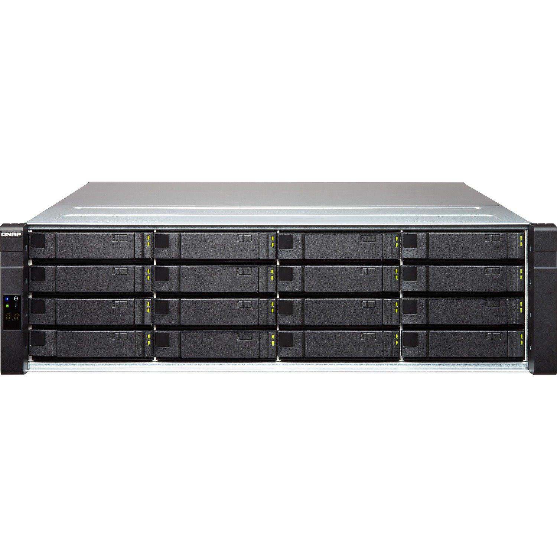 QNAP EJ1600 v2 Drive Enclosure - 12Gb/s SAS Host Interface - 3U Rack-mountable