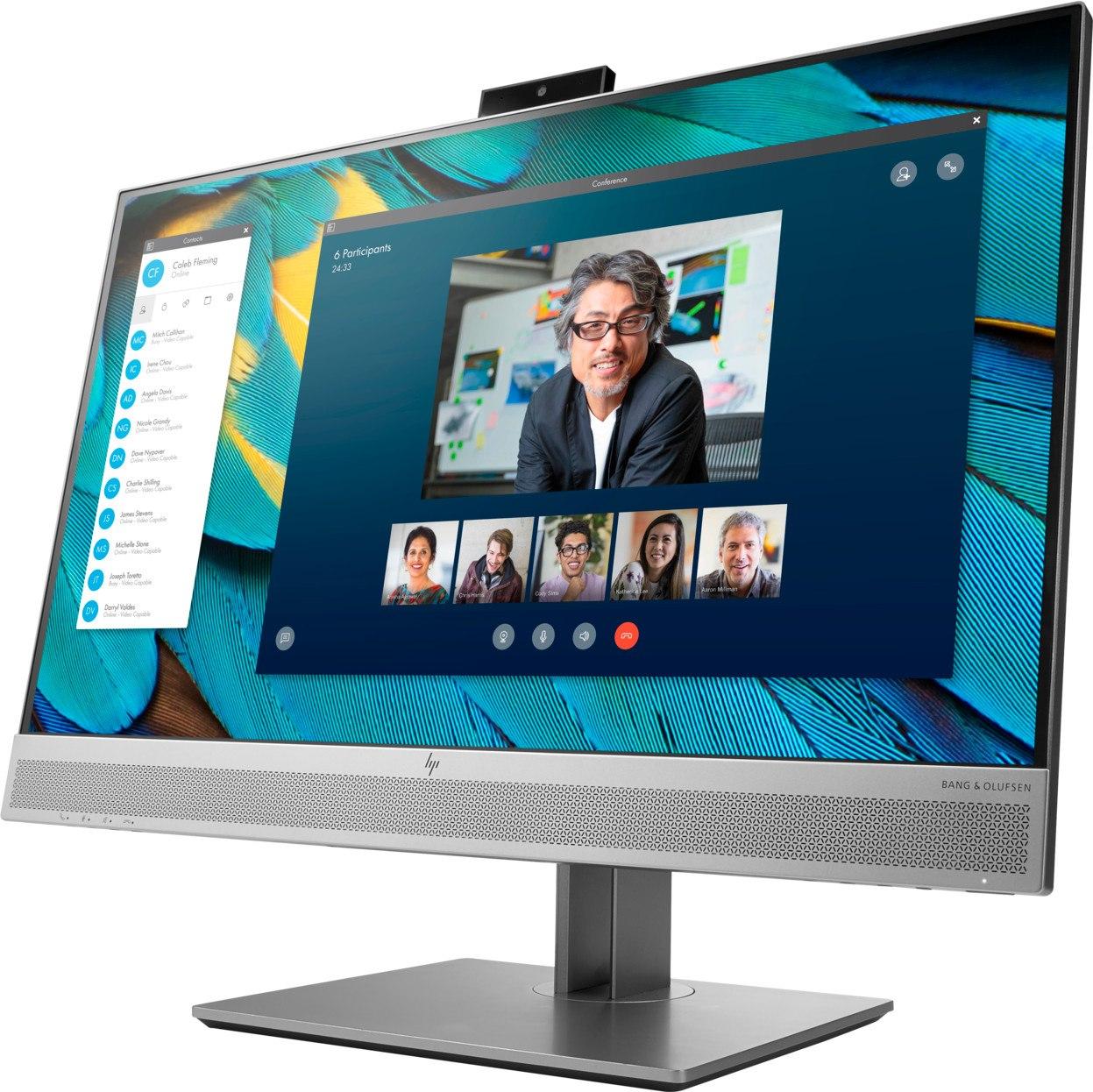 "HP Business EliteDisplay E243M 23.8"" Full HD IPS LED Monitor with Built-In WEBCAM"