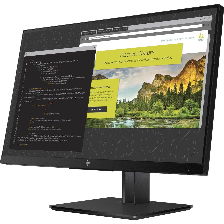 "HP Z24nf G2 60.5 cm (23.8"") Full HD WLED LCD Monitor - 16:9 - Black"