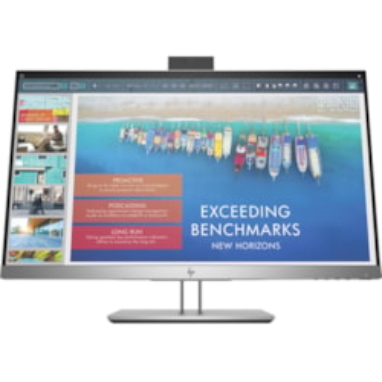 "HP Business E243d 60.5 cm (23.8"") Full HD LED LCD Monitor - 16:9 - Silver, Black"