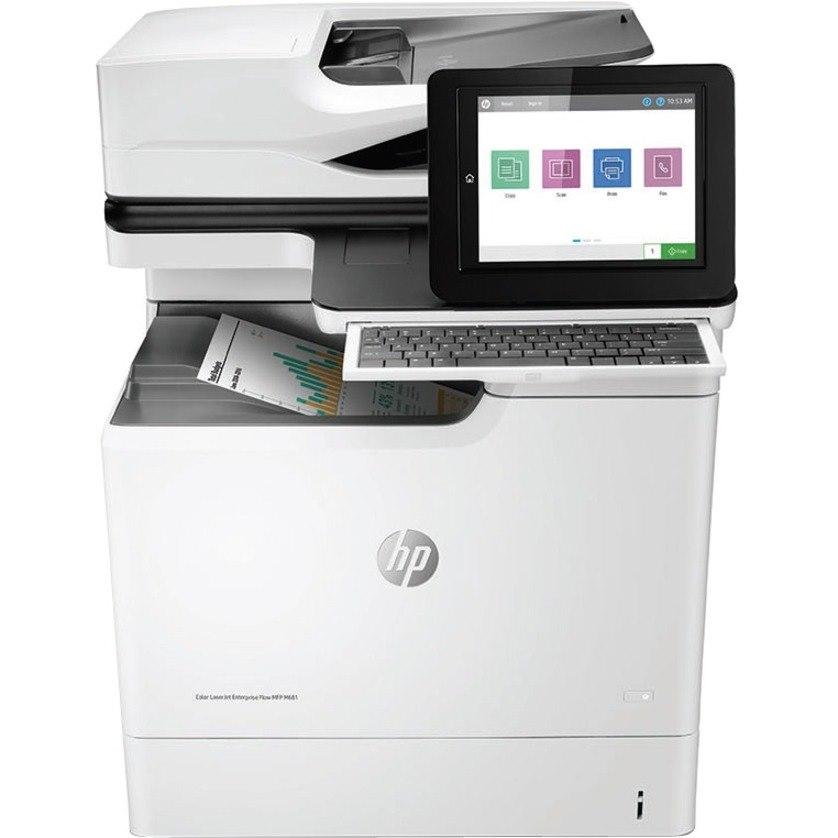 HP LaserJet M681 M681dh Laser Multifunction Printer - Colour