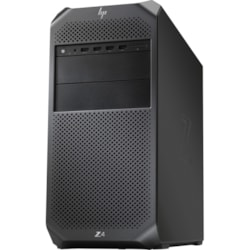 HP Z4 G4 Workstation - 1 x Intel Xeon Hexa-core (6 Core) W-2235 3.80 GHz - 32 GB DDR4 SDRAM RAM - 1 TB HDD - 1 TB SSD - Mini-tower - Black