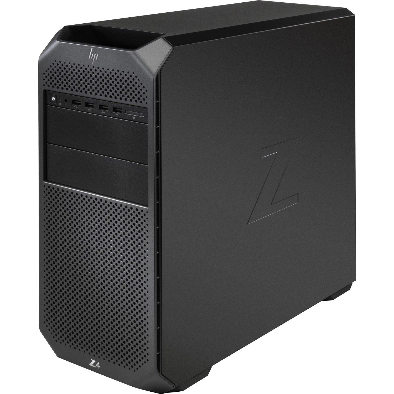 HP Z4 G4 Workstation - 1 x Intel Xeon Hexa-core (6 Core) W-2235 3.80 GHz - 32 GB DDR4 SDRAM RAM - 1 TB HDD - 1 TB SSD - Mini-tower - Black