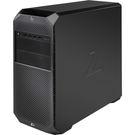 HP Z4 G4 Workstation - 1 x Intel Core X-Series Dodeca-core (12 Core) i9-10920X 10th Gen 3.50 GHz - 64 GB DDR4 SDRAM RAM - 2 TB HDD - 1 TB SSD - Mini-tower - Black